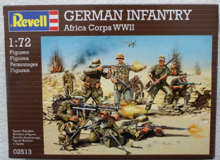 Revell 1/72 RV02513 German Afrika Korps Infantry (WW2)